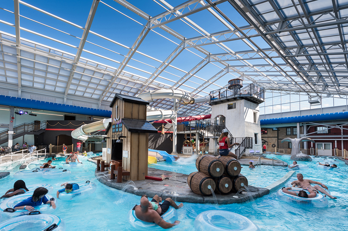 Indoor Outdoor Water Park