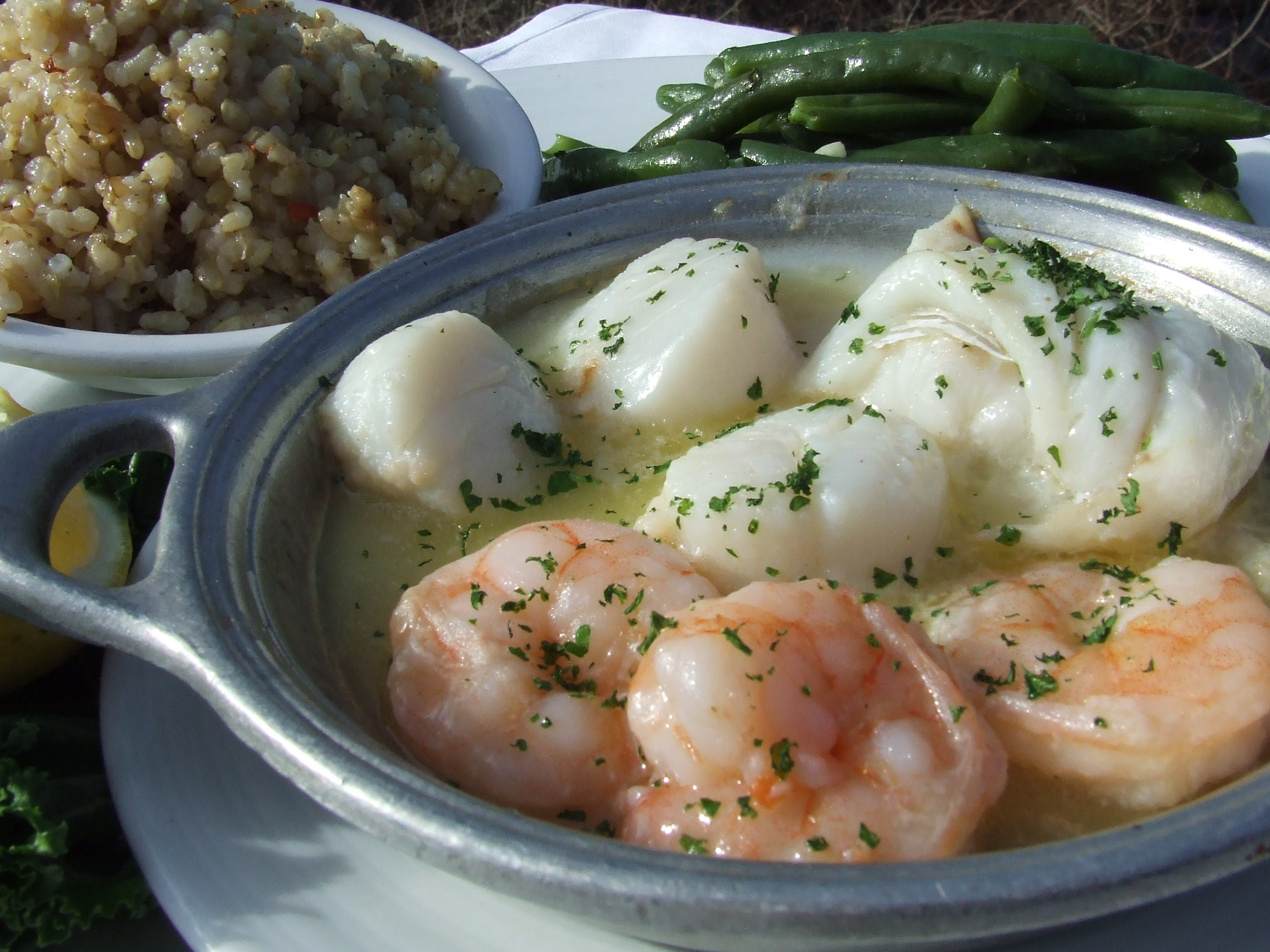 Seafood at the Hearth ' n Kettle