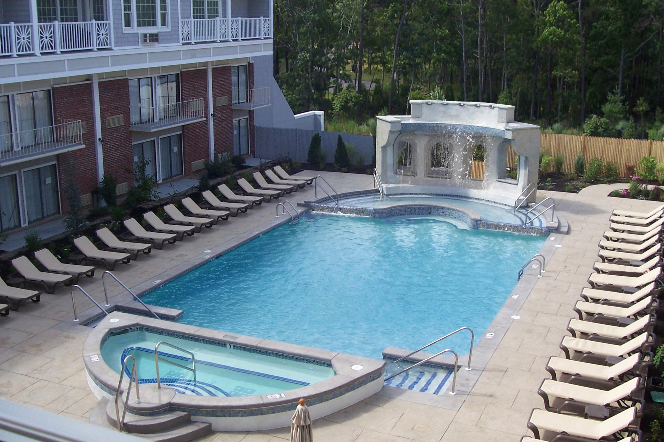 Rainbow Falls Heated Outdoor Pool